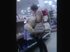 Flash cum in supermarket 18