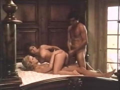 Shauna Grant, Ron Jeremy, Jamie Gillis in classic porn video