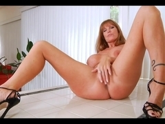 Porn video showing a hot MILF having sex
