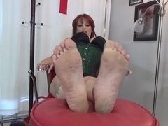 Mature Mistress Dirty Soles
