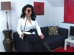 Donna Ambrose AKA Danica Collins - Leather boots