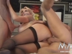 MMVFilms Video: Sexy Older Woman Gets Double Penetrated