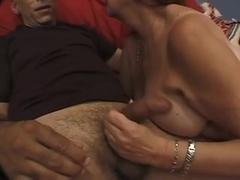 Plump bushy aged wench pressed by a Bbc