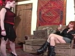 college girl whip an older woman