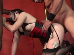 Crazy pornstars Sledge Hammer, Amy Starz in Hottest Brunette, DP porn video
