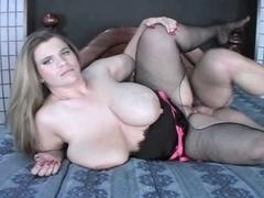 Large Marangos big beautiful woman Haley Drilled And Spoonfed Goo