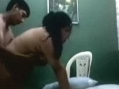Indian aunty fucking a young boy