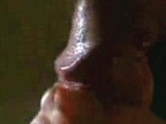 Seductive amateur blowjob video