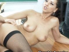 Angel Dark & Jordan Ash in My First Sex Teacher