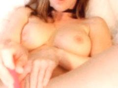 Cute Girl masterbates on webcam