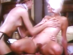 Hottest facial vintage scene with Luke Gusher and Short Stud