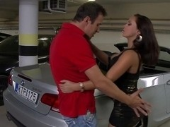 Sex on a car... and in a car