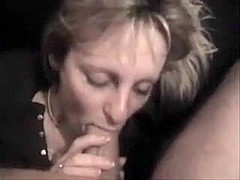 Penis suck in amateur mature video
