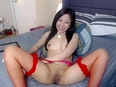 Cute asian masturbation webcam
