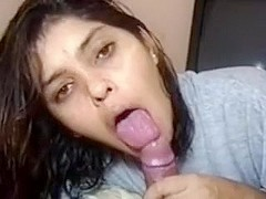 Super sweet facial from my hot lover