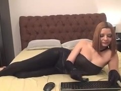 darksome shiny leggings -bymonique