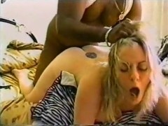 Horny blonde explodes with erotica