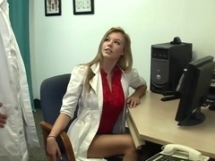 Doctor Hires Obedient Female Office Assistant