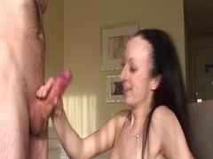 hawt non-professional hj to biggest ejaculation