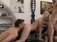 Foursome 2 Chaps, Legal Age Teenager and Mature Woman