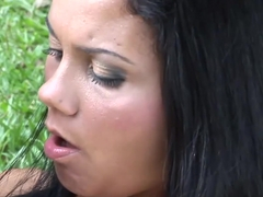 brazilian jungle anal threesome