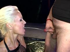 Amazing pornstar in Horny Bukkake, Fetish adult movie
