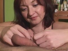 huge cumshot for Maya
