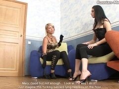 Russian-Mistress Video: Amanda & Karen