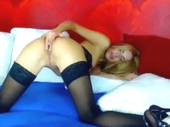 Cutie Sheylin parted legs in front of camera