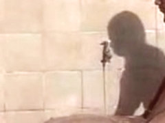2 Nice-Looking 18yr Old Brazilian Teenies Shower And Play Jointly