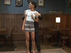 Incredible bdsm, fetish adult clip with amazing pornstars Nikki Darling and Lee Harrington from Kinkuniversity
