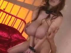Amazing Japanese chick in Exotic BDSM, Big Tits JAV scene