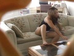 Voyeur amateur rubbing nub