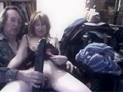 Huge black toy in the box