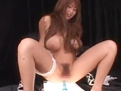 Amazing Japanese whore Rui Akikawa in Crazy Anal, Toys JAV video