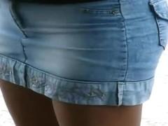 Linda minifalda
