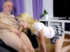Sexy Helena makes it worthwhile for OldGoesYoung fan - OldGoesYoung