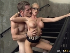 Big Tits at Work: We Really Shouldn't Be Doing This. Madison Scott, Brick Danger