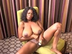 POV Black MILF 47yo huge natural boobs tits fuck fuck Part 2