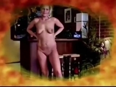 BLONDE DANIELA STRIPPING AND SUCKING