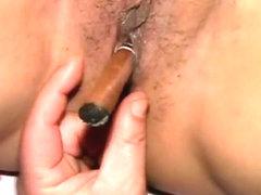 pussy cigar champagne