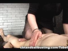 CBTandBallBusting Video: POV Ballbusting