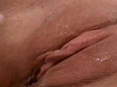 Claire Diamond is playinh with her sex toys