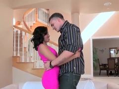 Lusty ebony hottie Yasmine de Leon gets fingered by Clover