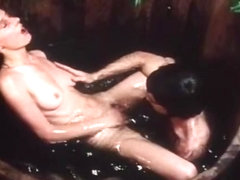 Horny facial vintage clip with No Director Credited and Simone Sinclair