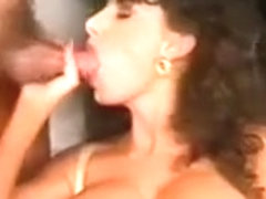 Sarah Young received heavy Cumshot