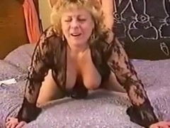 lascivious grandma is screwed doggy style and that babe actually appears to be to like it