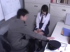 Sweet teen babe crammed hard in Japanese spy cam video