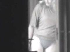 voyeur my neighbour in her thong
