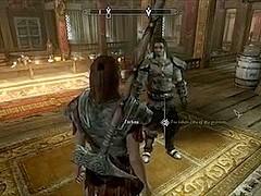 Perils of escaped Skyrim slavegirl 05